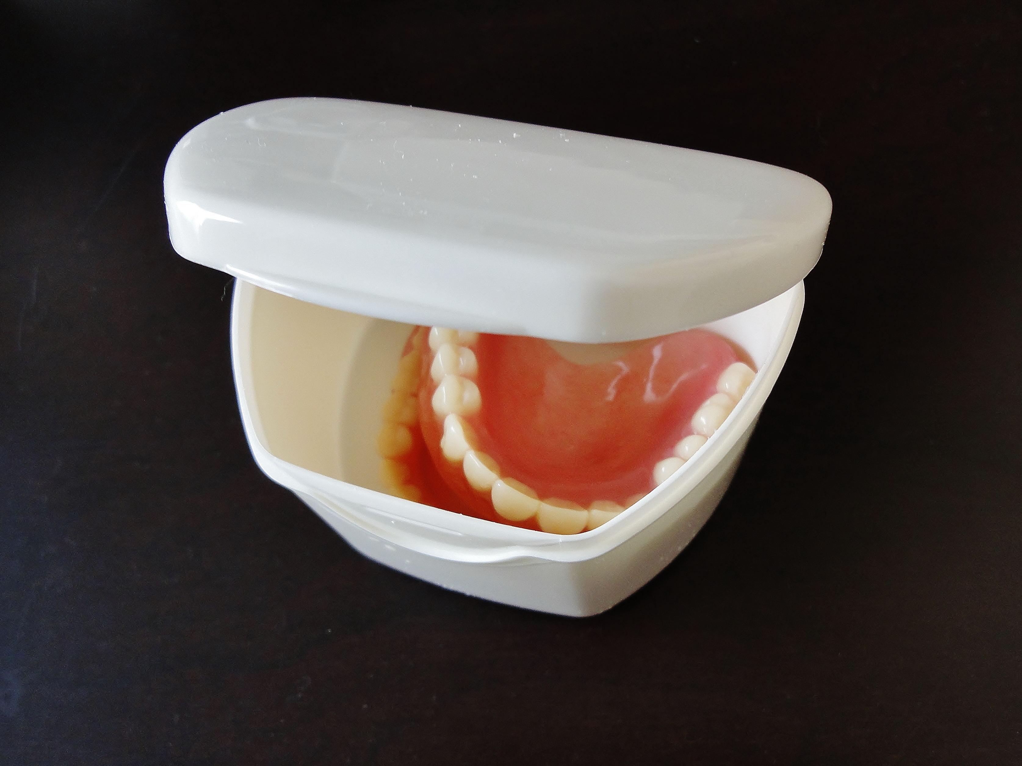 入れ歯保管容器