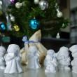 クリスマス石膏模型